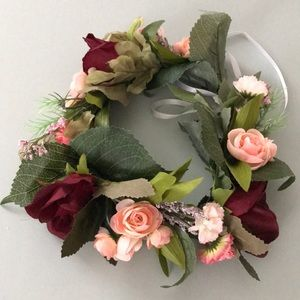Accessories - Faux Flower Crown